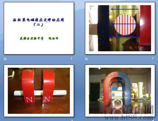 法拉第电磁感应定律的应用ppt1 人教课标版
