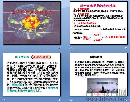 原子的核式结构模型ppt2
