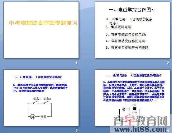 中考物理综合作图专题复习ppt
