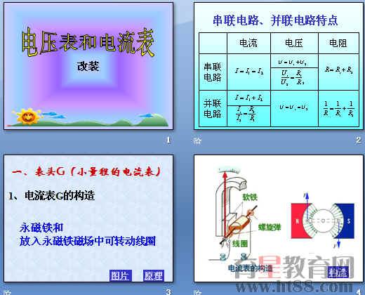 电压表和电流表ppt 人教版