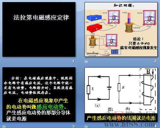 法拉第电磁感应定律ppt13