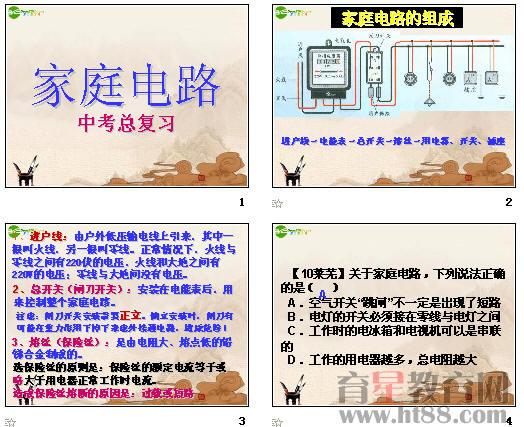 家庭电路布线设计图纸展示