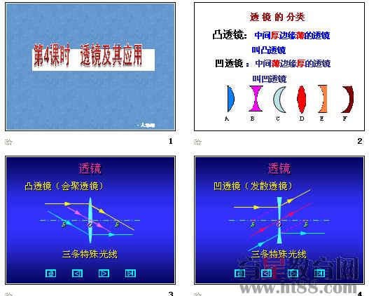 2011年中考物理 透镜及其应用 一轮复习ppt