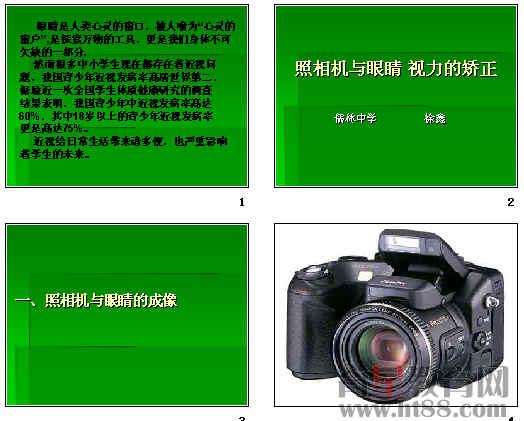 照相机与眼睛ppt2 苏科版
