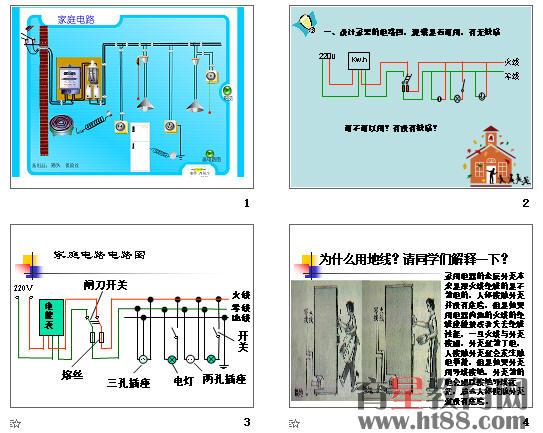 家庭电路与安全用电ppt5 粤教沪科版图片